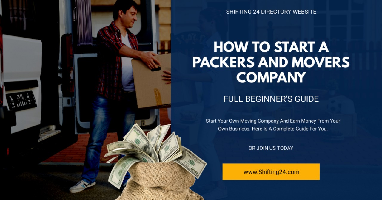 start a moving company in india | Shifting 24