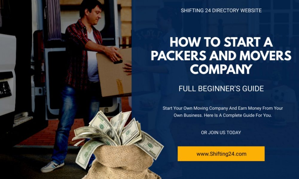 How To Start A Moving Company In India