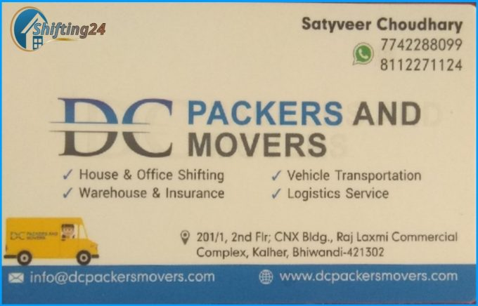 DC Packers And Movers Image Contact