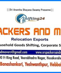 SRS Packers And Movers In Bangalore